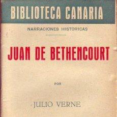 Libros de segunda mano: BIBLIOTECA CANARIA.JUAN DE BETHENCOURT- TENERIFE. Lote 156452578