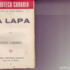 Libros de segunda mano: BIBLIOTECA CANARIA.LA LAPA - TENERIFE. Lote 156452642
