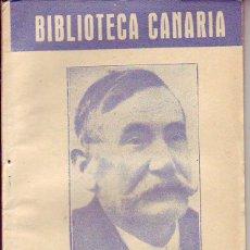 Libros de segunda mano: BIBLIOTECA CANARIA.GALDOS Y CANARIAS - TENERIFE. Lote 156452814