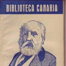 Libros de segunda mano: BIBLIOTECA CANARIA.SABINO BERTHELOT - TENERIFE. Lote 156453150