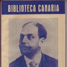 Libros de segunda mano: BIBLIOTECA CANARIA.VALENTIN SANZ - TENERIFE. Lote 156453438