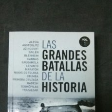 Libros de segunda mano: LAS GRANDES BATALLAS DE LA HISTORIA-VOLUMEN 1-. Lote 156518530