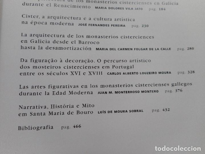 Libros de segunda mano: Arte del Císter en Galicia y Portugal.Arte de Císter em Portugal e Galiza Y93123 - Foto 5 - 156067274