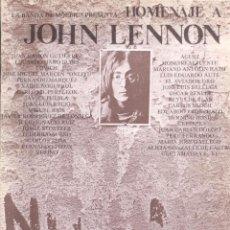 Libros de segunda mano: VV. AA. . HOMENAJE A JOHN LENNON . LA BANDA DE MOEBIUS. Lote 156537226