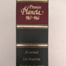 Libros de segunda mano: PREMIOS PLANETA 1963-1966. Lote 156539509
