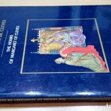 Libros de segunda mano: AS HORAS DE MARGARIDA DE CLEVES - JAMES H MARROW - THE HOURS OF MARGARET OF CLEVES. Lote 156551558