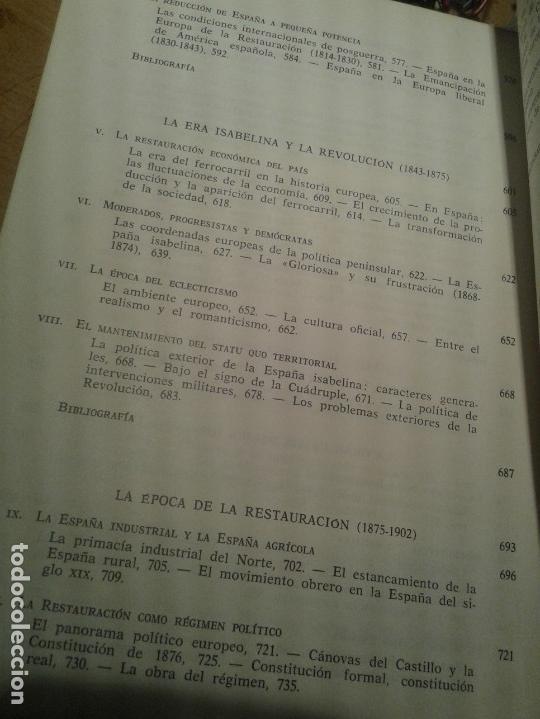 Libros de segunda mano: HISTORIA DE ESPAÑA - TEIDE 1979 (REBAJADO) - Foto 4 - 27604770