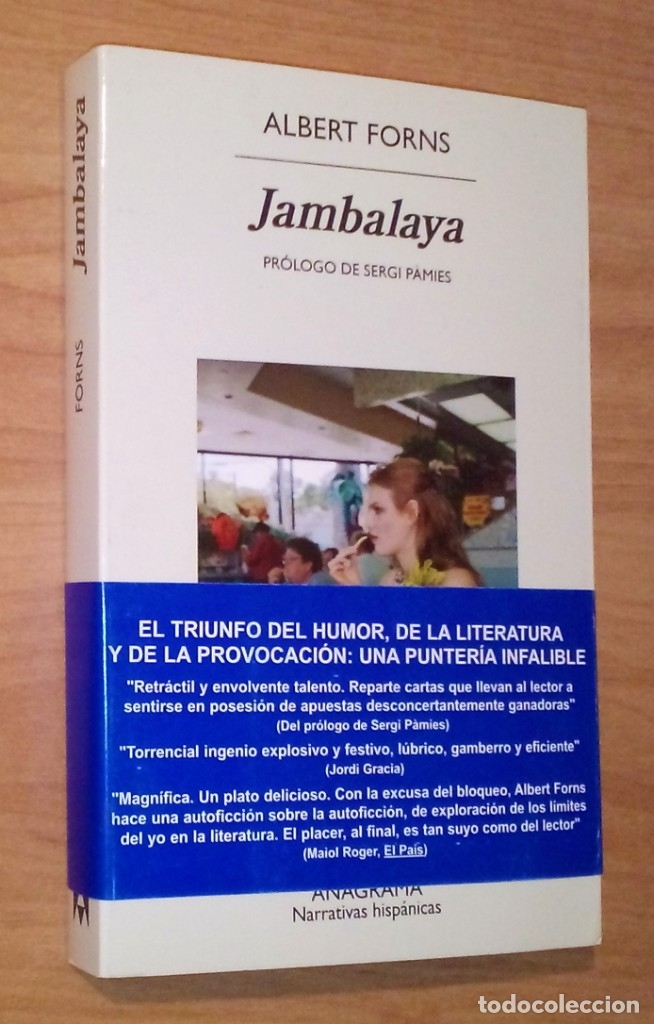 ALBERT FORNS - JAMBALAYA - ANAGRAMA, 2016 (Libros de Segunda Mano (posteriores a 1936) - Literatura - Otros)