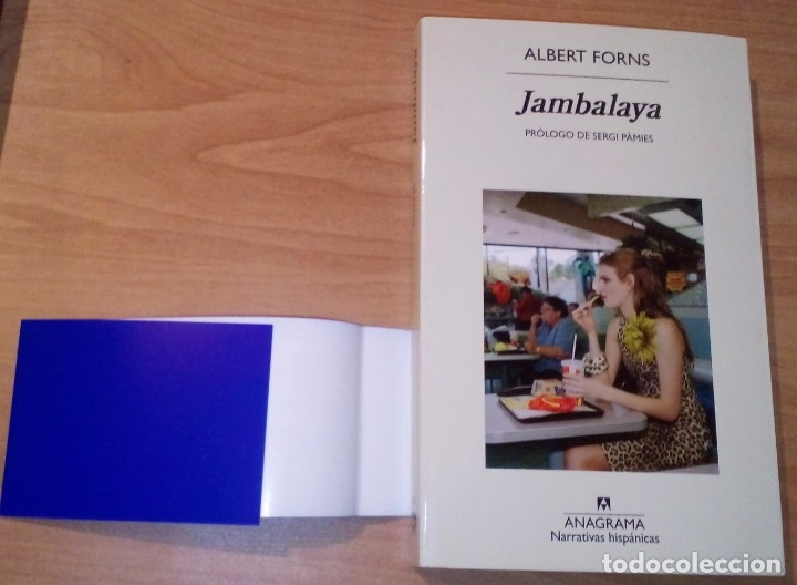 Libros de segunda mano: ALBERT FORNS - JAMBALAYA - ANAGRAMA, 2016 - Foto 2 - 156011386