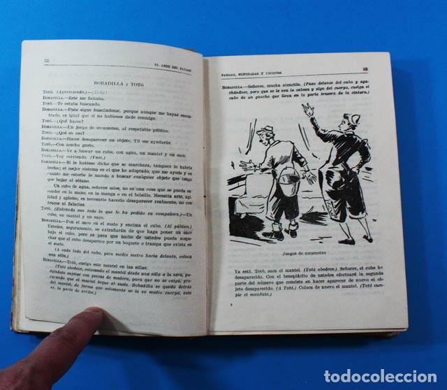 Libros de segunda mano: CURIOSO LIBRO EL ARTE DEL PAYASO, J.M.LAPORTA, EDITORIAL LUMEN 1946 247 PAG.DIBUJOS DE PEDRO CLAPERA - Foto 4 - 156588182