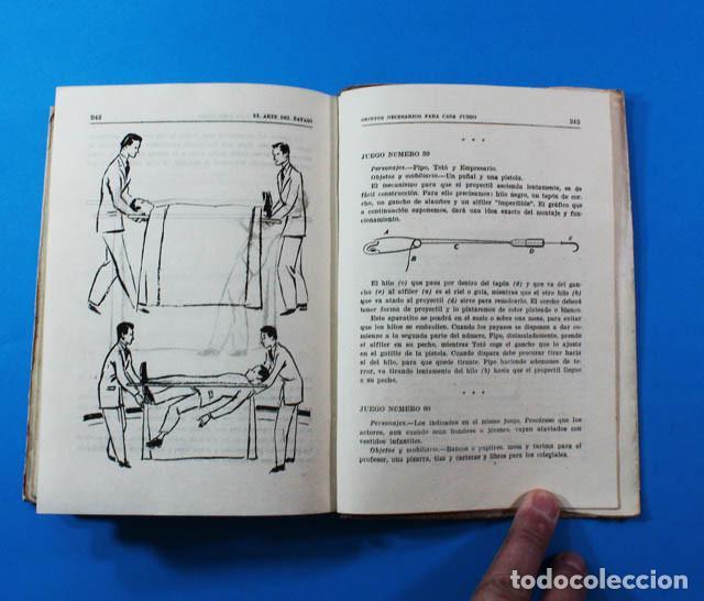 Libros de segunda mano: CURIOSO LIBRO EL ARTE DEL PAYASO, J.M.LAPORTA, EDITORIAL LUMEN 1946 247 PAG.DIBUJOS DE PEDRO CLAPERA - Foto 5 - 156588182