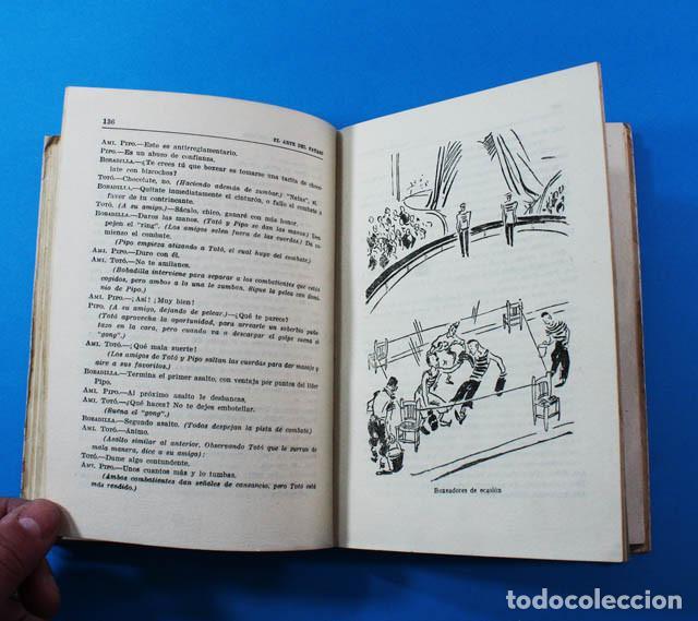 Libros de segunda mano: CURIOSO LIBRO EL ARTE DEL PAYASO, J.M.LAPORTA, EDITORIAL LUMEN 1946 247 PAG.DIBUJOS DE PEDRO CLAPERA - Foto 6 - 156588182