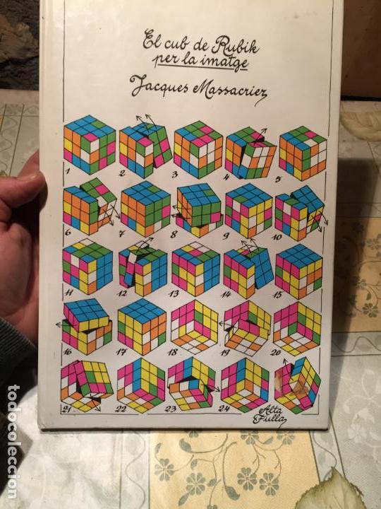 ANTIGUO LIBRO EL CUB DE RUBIK PER LA IMATGE POR JACQUES MOSSACRIER AÑO 1982 (Libros de Segunda Mano - Bellas artes, ocio y coleccionismo - Otros)