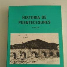 Libri di seconda mano: HISTORIA DE PUENTECESURES/JOSÉ PIÑEIRO ARES. Lote 156698718