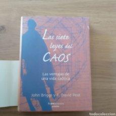 Las siete leyes del Caos. John Briggs y F. David Peat