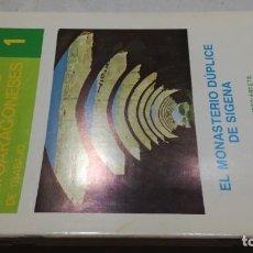 Libros de segunda mano: EL MONASTERIO DÚPLICE DE SIGENA / AGUSTIN UBIETO / CUADERNOS ALTOARAGONESES Nº 1 / HUESCA ARAGON. Lote 156720974