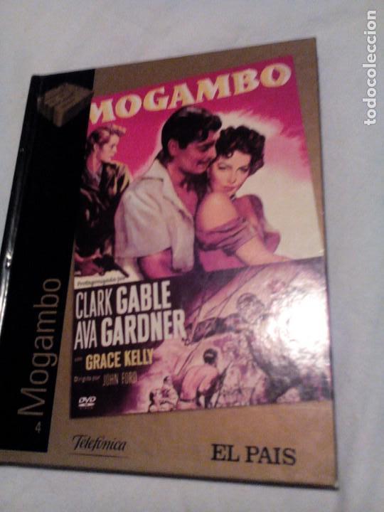 R A2_LIBRO Y PELÍCULA DVD, MOGAMBO, MIDE APROX 15X19CM. TIENE 55 PAGINAS (Libros de Segunda Mano (posteriores a 1936) - Literatura - Otros)