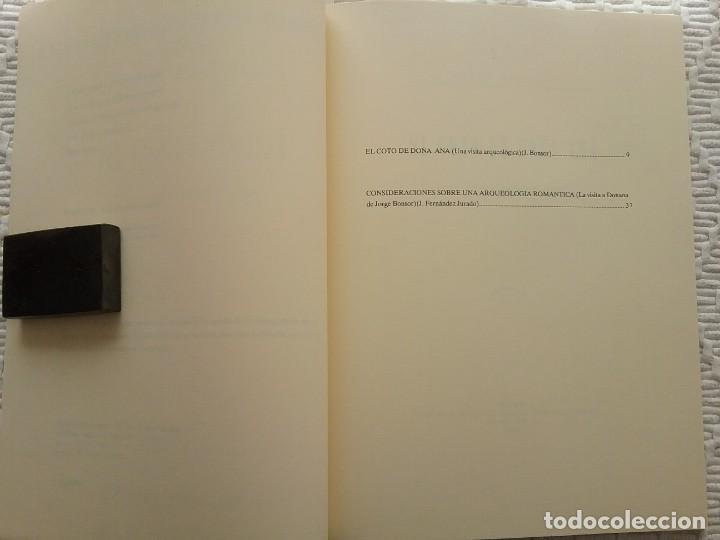 Libros de segunda mano: Arqueología Huelva Doñana Facsímil - Foto 2 - 156775110