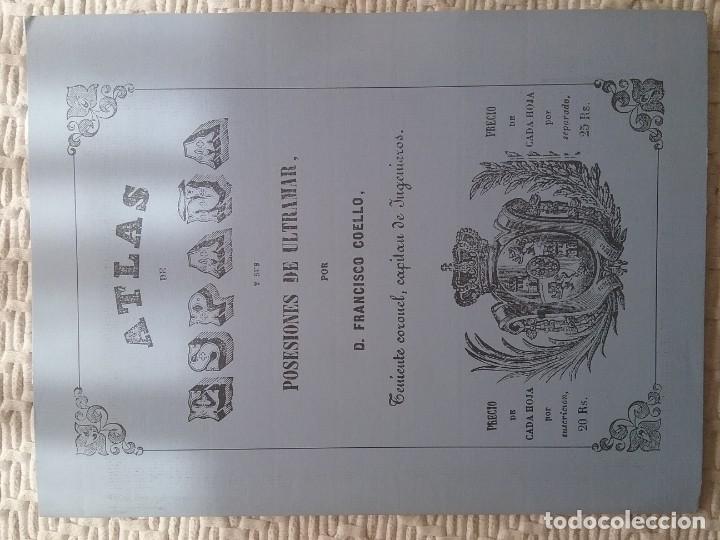 HUELVA. ATLAS DE ESPAÑA. MADOZ. FACSÍMIL (Libros de Segunda Mano - Historia - Otros)