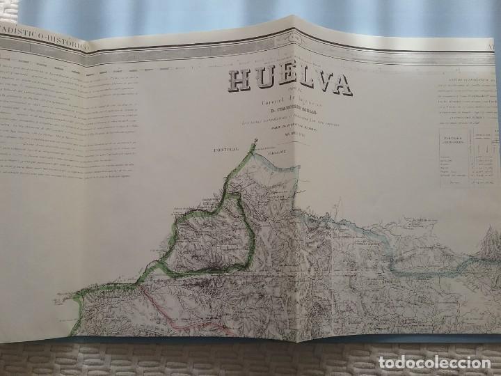 Libros de segunda mano: Huelva. Atlas de españa. Madoz. Facsímil - Foto 3 - 156778166