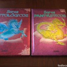 Libros de segunda mano: LOTE 2 TOMOS: SERES FANTÁSTICOS Y SERES MITOLÓGICOS. SUSAETA. Lote 156793814