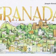 Libros de segunda mano: GRANADA. ACUARELAS. - GONZÁLEZ DORAO, JOAQUÍN.. Lote 156805998