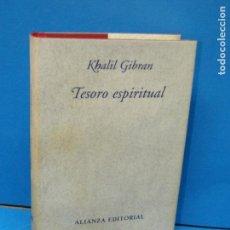 Libros de segunda mano: TESORO ESPIRITUAL ,-GIBRAN, KHALIL. Lote 156827262