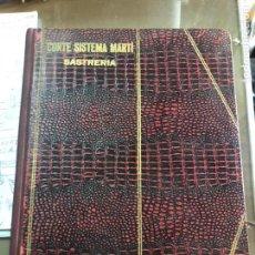 Libros de segunda mano: EXTRAORDINARIO LOTE DE LIBROS DE CORTE SISTEMA MARTÍ. Lote 156837974