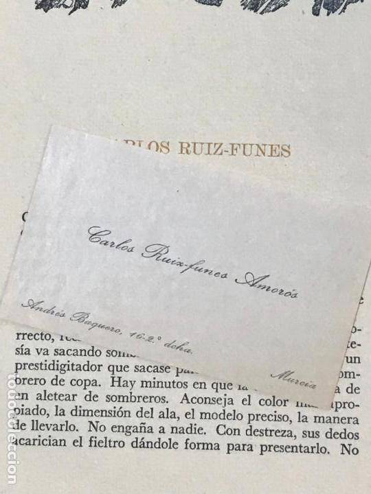 Libros de segunda mano: RETRATO DE CAROS RUIZ FUNES POR LUIS GARAY MURCIA 1952 - Foto 2 - 156839322
