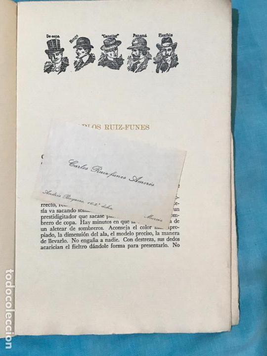 Libros de segunda mano: RETRATO DE CAROS RUIZ FUNES POR LUIS GARAY MURCIA 1952 - Foto 3 - 156839322
