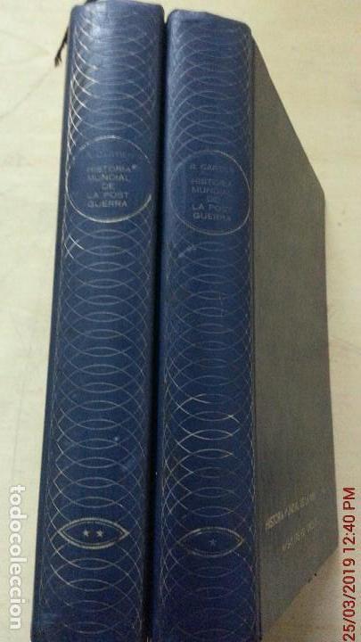 Libros de segunda mano: HISTORIA MUNDIAL DE LA POSTGUERRA - 2 TOMOS - RAYMOND CARTIER - MAS-IVARS ED. AÑO 1971 - Foto 3 - 156877046