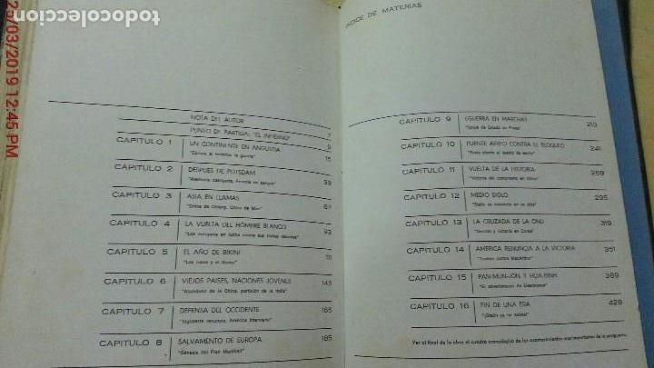Libros de segunda mano: HISTORIA MUNDIAL DE LA POSTGUERRA - 2 TOMOS - RAYMOND CARTIER - MAS-IVARS ED. AÑO 1971 - Foto 12 - 156877046