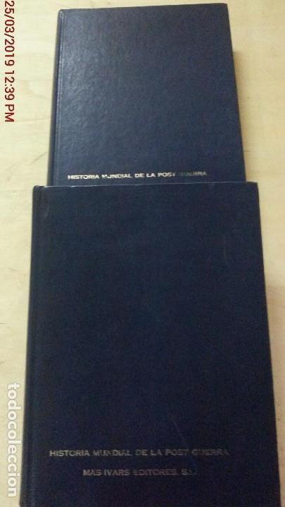 Libros de segunda mano: HISTORIA MUNDIAL DE LA POSTGUERRA - 2 TOMOS - RAYMOND CARTIER - MAS-IVARS ED. AÑO 1971 - Foto 2 - 156877046