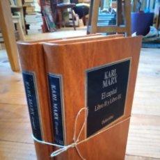 Libros de segunda mano: EL CAPITAL.KARL MARX. Lote 156883300