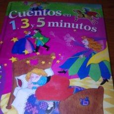 Libros de segunda mano: CUENTOS EN 1, 3 Y T MINUTOS. SERVILIBRO. EST3B1. Lote 156960218
