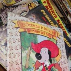 Libros de segunda mano: D`ARTACAN Y LOS TRES MOSQUEPERROS DANONE. Lote 156960338