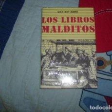 Libros de segunda mano: LOS LIBROS MALDITOS , MAR REY BUENO , NUEVO Y PRECINTADO. Lote 156967850