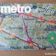 Libros de segunda mano: METRO DE PARIS. 1969. LIBRERIA HACHETTE. 127 PP. MUY ILUSTRADO. EN FRANCÉS.. Lote 156995954
