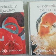 Libros de segunda mano: 2 LIBROS BIBLIOTECA SALVAT DE GRANDES TEMAS Nº4-Nº7 AÑO 1973. Lote 157002894