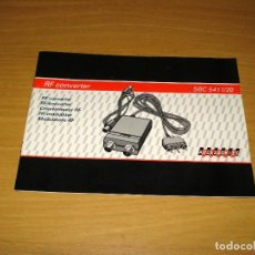 Libros de segunda mano: RF CONVERTER SBC 5411/20 . MANUAL DE INSTRUCCIONES. Lote 157004458