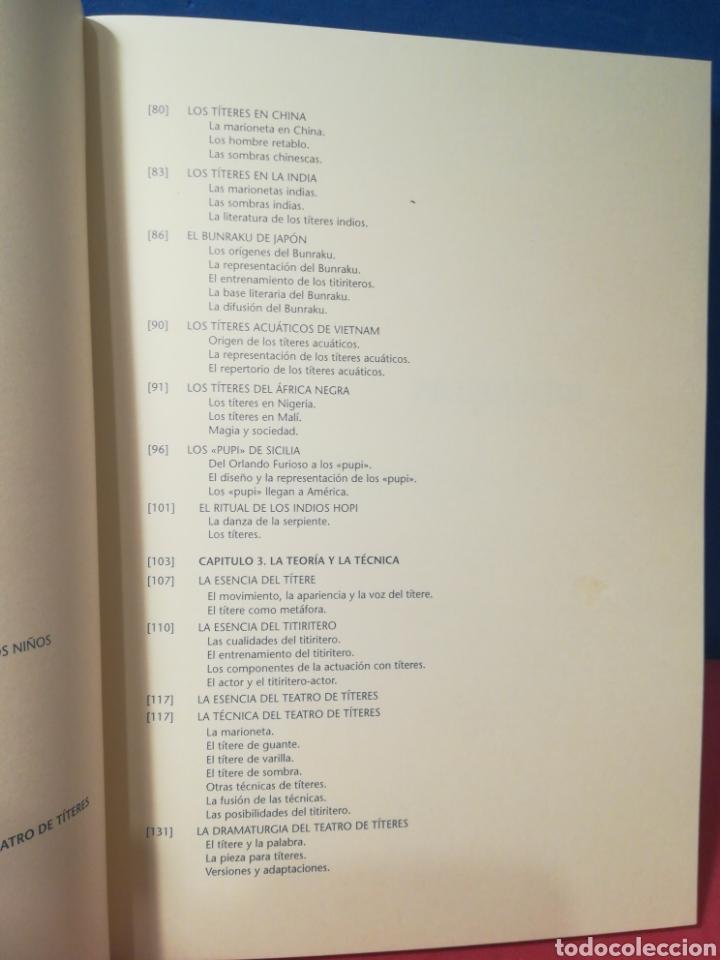 Libros de segunda mano: Títeres: historia, teoría y tradición - Freddy Artiles - Librititeros Arbolé, 1998 - Foto 5 - 157008548