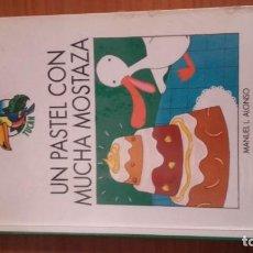 Libros de segunda mano: UN PASTEL CON MUCHA MOSTAZA EDITORIAL EDEBE AUTOR MANUEL .L. ALONSO. Lote 157010354