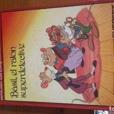 Libros de segunda mano: BASIL EL RATÓN SUPERDETECTIVE DISNEY . Lote 157013266