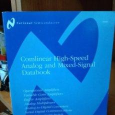 Libros de segunda mano: COMLINEAR HIGH-SPEED ANALOG AND MIXED-SIGNAL DATABOOK. Lote 157014074