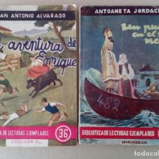 Libros de segunda mano: 2 EJEMPLARES DE EDITORIAL ESCELICER. AÑOS 40. Lote 157020590
