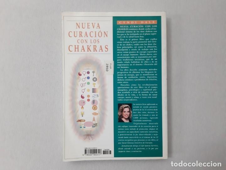 Libros de segunda mano: Nueva curación con los chakras el revolucionario sistema energético de los 32 centros por Cyndi Dale - Foto 4 - 157047588