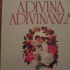 Libros de segunda mano: ADIVINA ADIVINANZA--CARMEN BRAVO-VILLASANTE. Lote 157083654