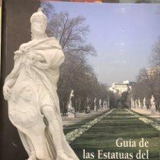 Libros de segunda mano: ESTATUAS DEL PALACIO REAL DE MADRID. LIBRO-GUIA JOSÉ I POZUELO. 2007. Lote 156771845