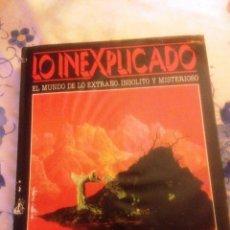 Libros de segunda mano: LO INEXPLICADO.- TOMO 1. Lote 157133754