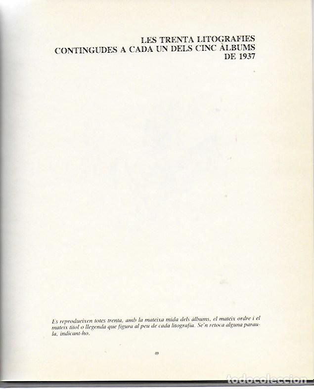 Libros de segunda mano: Sobre Xavier Nogués i la seva circumstància amb 46 litografies de X. Nogués / Salvador Espriu. BCN : - Foto 4 - 157222038